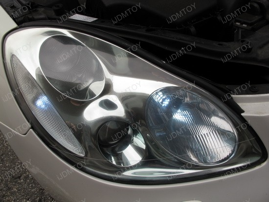 Lexus - SC - 430 - LED - daytime - running - lights - 4